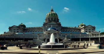 Pennsylvania State Captiol in Harrisburg, Pa.