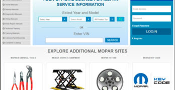Mopar Tech Authority Website